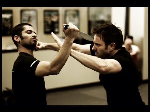 Knife Defense : Krav Maga Technique : KMW KravMaga Self Defense w/ AJ Draven
