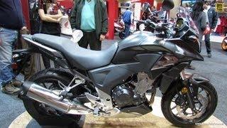 3. 2013 Honda CB500X - Walkaround - 2012 Toronto Motorcycle Show