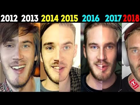 THE EVOLUTION OF PEWDIEPIE | 2010-2018