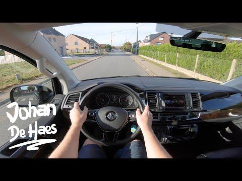 VW MULTIVAN T6 2.0TDI 204 HP POV TEST DRIVE