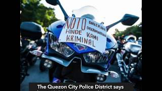 10,000 motorcycle riders stage EDSA protest vs bigger plates