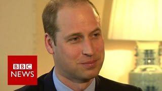 Video Prince William: 'I don't lie awake waiting to be king' BBC News MP3, 3GP, MP4, WEBM, AVI, FLV April 2018