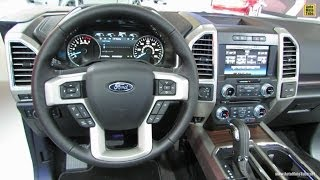 2015 Ford F150 Interior Walkaround - 2014 Detroit Auto Show