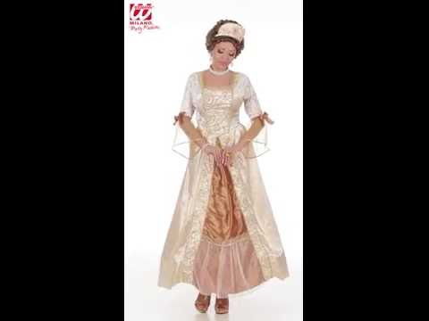 Costume de Marquise Golden-v29447