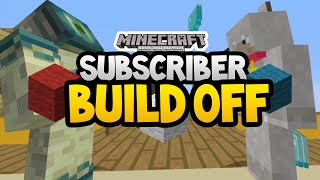 Minecraft Xbox - Subscriber Build Off - HOUSES! [17]