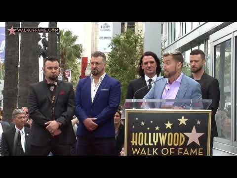 *NSYNC Walk of Fame Ceremony