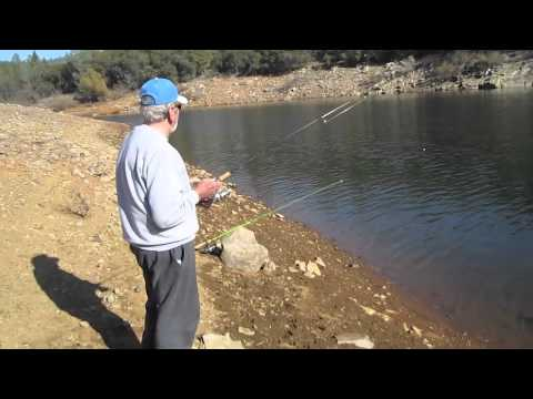 Collins Lake Winter Trout Fishing!.m4v