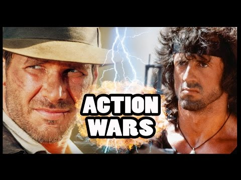 INDIANA JONES vs RAMBO - Action Hero Wars