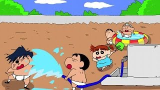 Crayon Shin chan Movie 03 - Unkokusai no Yabou ARR