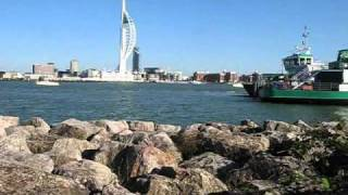 Gosport United Kingdom  City pictures : Gosport uk fast motion urban tour