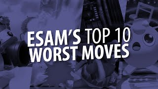 10 WORST MOVES IN SMASH4  ESAMOpinions