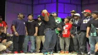Krump Battle TightEyez & Baby TightEyez VS Big & Twinn Konkrete