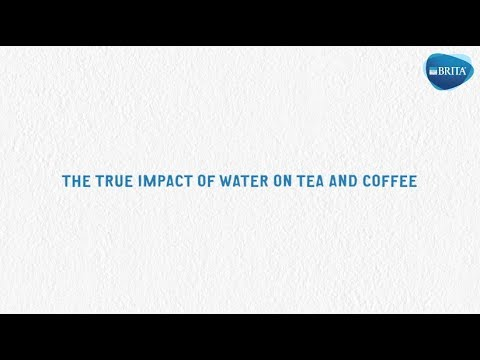 How does water transform your tea and coffee?