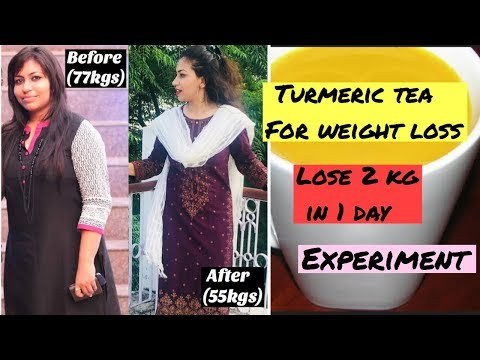Weight loss tea - I tried Versatile Vicky's turmeric tea for weight loss  Lose 1kg In 2 Days  Azra Khan Fitness