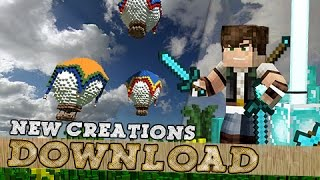Minecraft, New Creations ( Prisoner wagon, Hot Air Balloon ) & House Download, By Jeracraft