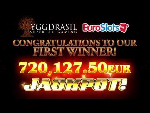 Joker Millions €720,000 first jackpot winner - Yggdrasil Gaming