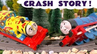 Video Thomas & Friends Toy Trains Crash Prank Accident - Train Toys Story Episode for Kids & Children TT4U MP3, 3GP, MP4, WEBM, AVI, FLV Juli 2017