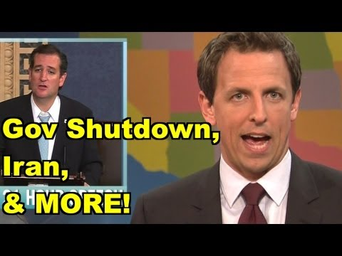 LiberalViewer Sunday LIVE Clip Round-Up at 6:30 pm – Shutdown, Iran – Bill Maher, SNL Ted Cruz MORE!