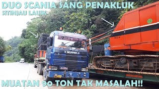 Video Duo Truk Scania Sang Penakluk Sitinjau Lauik MP3, 3GP, MP4, WEBM, AVI, FLV Januari 2019