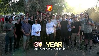 "A final recap of the 1000+ hot dogs who made our 30 Year party one to remember. Filmed/Edited by: Tony MaloufMusic: Tyranis, ""2 Days Late"""