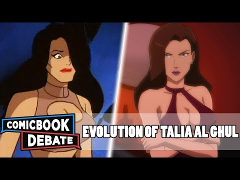 Evolution of Talia al Ghul in Cartoons in 7 Minutes (2019)