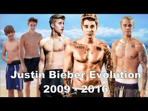Justin Bieber - Music Evolution (2009-2016)