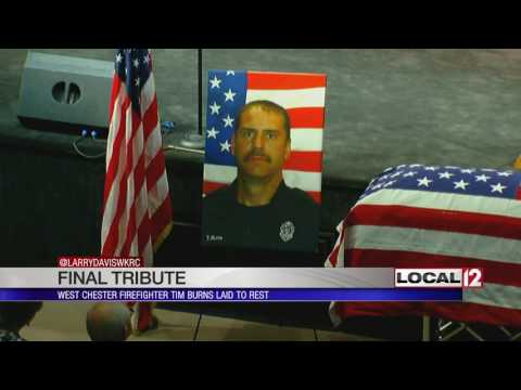 Funeral services for Firefighter Tim Burns