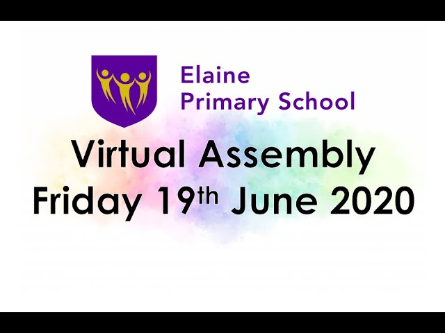 Virtual Merit Assembly 10 - 19th June 2020