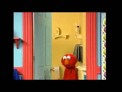 Parte graciosa de Elmo va al baño xD