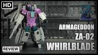 Zeta Toys Armageddon ZA 02 Whirlblade Transformers