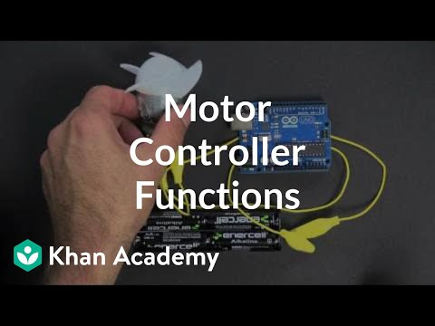 Motor Controller Functions Video Khan Academy