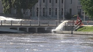 Hiawatha (IA) United States  City pictures : Cedar Rapids, IA Major Flooding - 9/26/2016