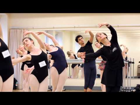 Advanced Ballet Class with Era Jouravlev at The Joffrey Ballet School Summer Intensive NYC