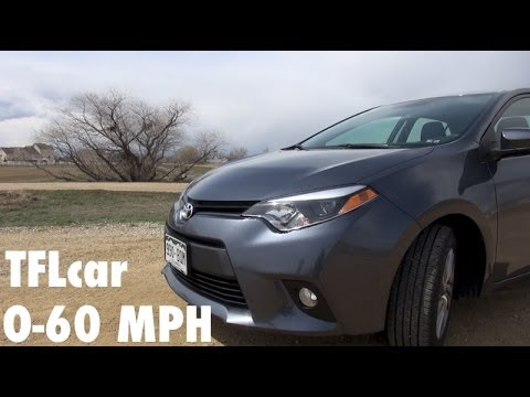 2014 Toyota Corolla LE 0-60 MPH Review: Does Eco Equal Slow?