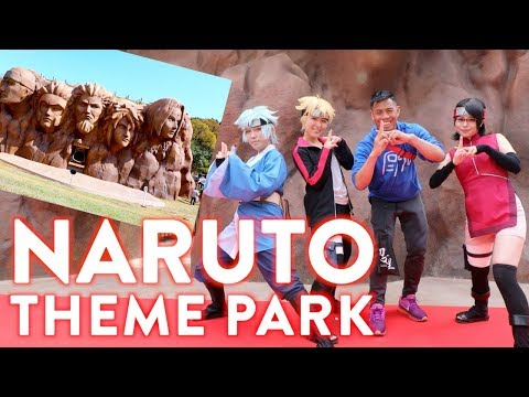 World's largest Naruto and Boruto Theme Park in Japan
