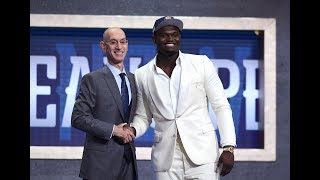 Zion Tears Up Going No. 1; Coby Couldn't Hold The Smiles | First 10 Picks Of The 2019 Draft by Bleacher Report