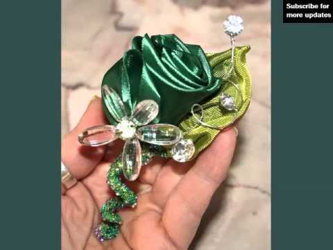 Wedding Boutonnieres And Corsage Green Roses | Corsage Green Roses Romance