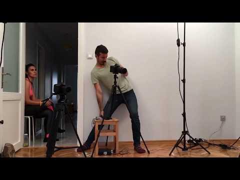 HemenPilates YouTube kanalı için yaptığımız çekimlerin kamera arkası.