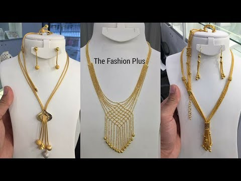 Latest Italian Gold necklaces designs