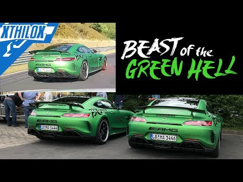 The new AMG RINGTAXIS are real beasts of green hell - Nürburgring Nordschleife