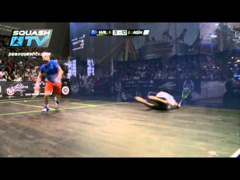 Squash : James Wilstrop v Ramy Ashour : PSA British Squash Open 2012