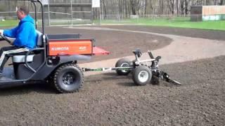 3. Kubota RTV500 with Baseball Infield Renovator/Drag