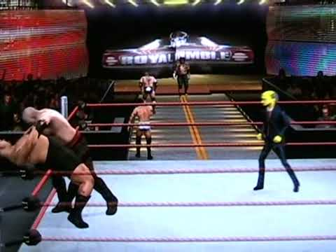 WWE vs The Simpsons Royal Rumble Part 1 of 3