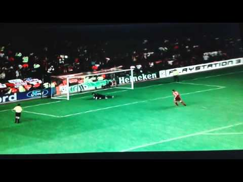 Liverpool Vs Chelsea  CL SF Penalty Shootout 2007