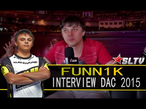 Interview with Na`Vi Funn1k DAC 2015 Dotasltv 2015