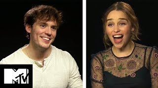 Emilia Clarke and Sam Claflin Go Speed Dating | Me Before You | MTV Movies