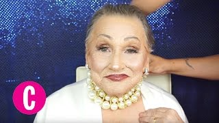 Grandma Contouring Makeup Transformation: Evening Look | Cosmopolitan by Cosmopolitan