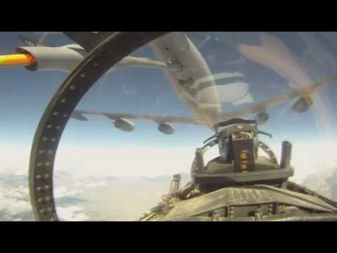 B-Roll footage from a 177th Fighter...