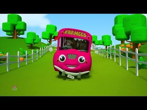 roda di bus   puisi untuk anak-anak   sajak pembibitan   Wheels On The Bus   Kids Rhymes   Kids Song