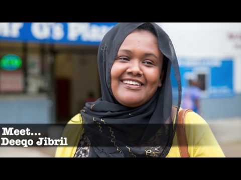 Deeqo Jibril: Setting a different example